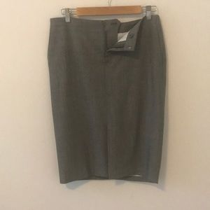 Grey wool Banana Republic Pencil Skirt SZ4